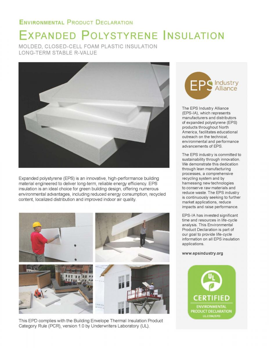 EPS Insulation EPD Report
